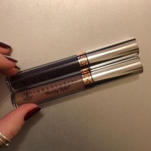 Two Anastasia liquid lipsticks